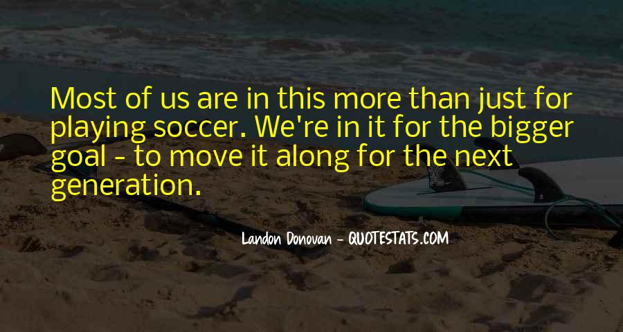 Best Landon Donovan Quotes #1059965