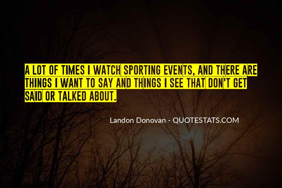 Best Landon Donovan Quotes #551421