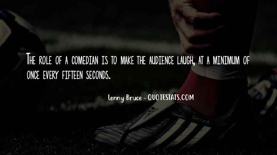 Best Lenny Bruce Quotes #296322