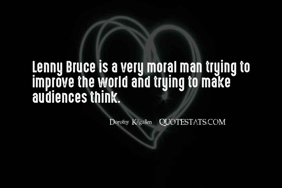 Best Lenny Bruce Quotes #95722