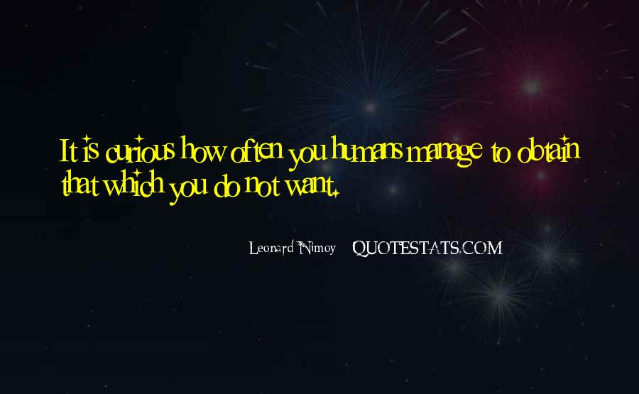 Best Leonard Nimoy Spock Quotes #1486428