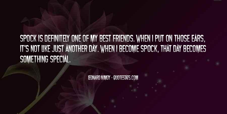 Best Leonard Nimoy Spock Quotes #444357