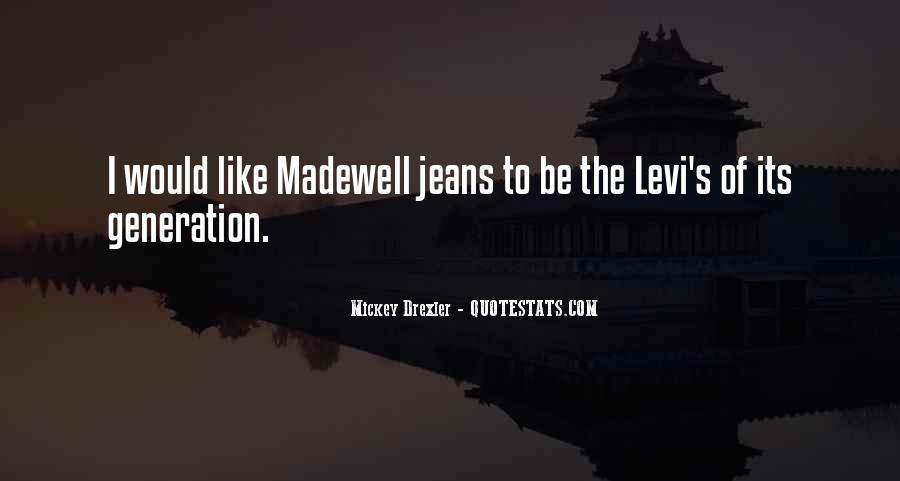 Best Levi Quotes #108165