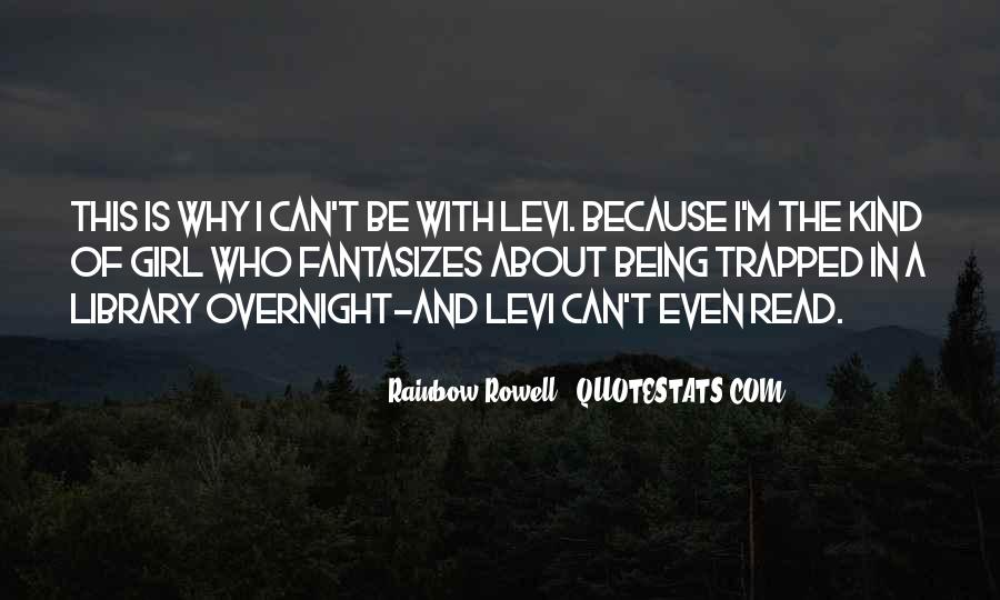 Best Levi Quotes #110891