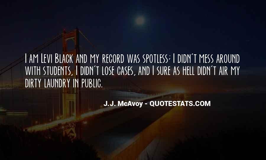 Best Levi Quotes #1907