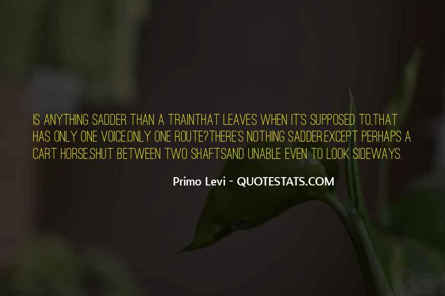 Best Levi Quotes #5130