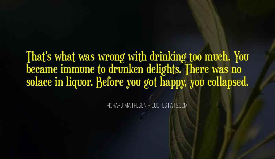Best Liquor Quotes #45556
