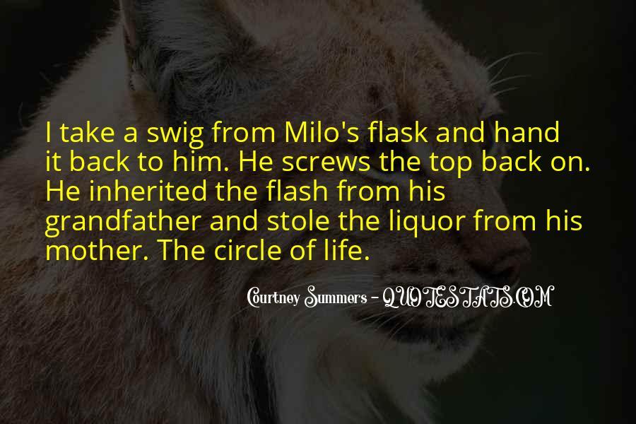 Best Liquor Quotes #78110