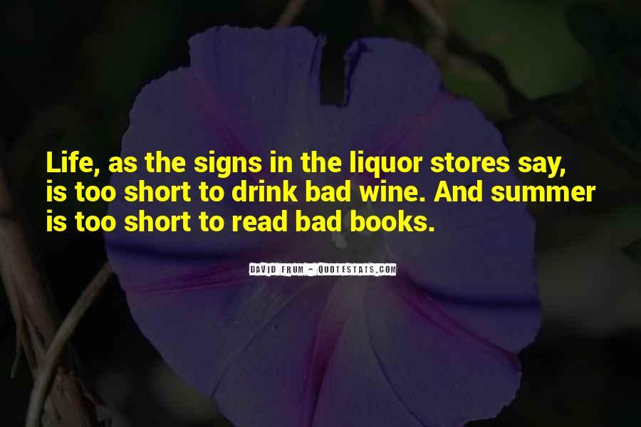 Best Liquor Quotes #82786