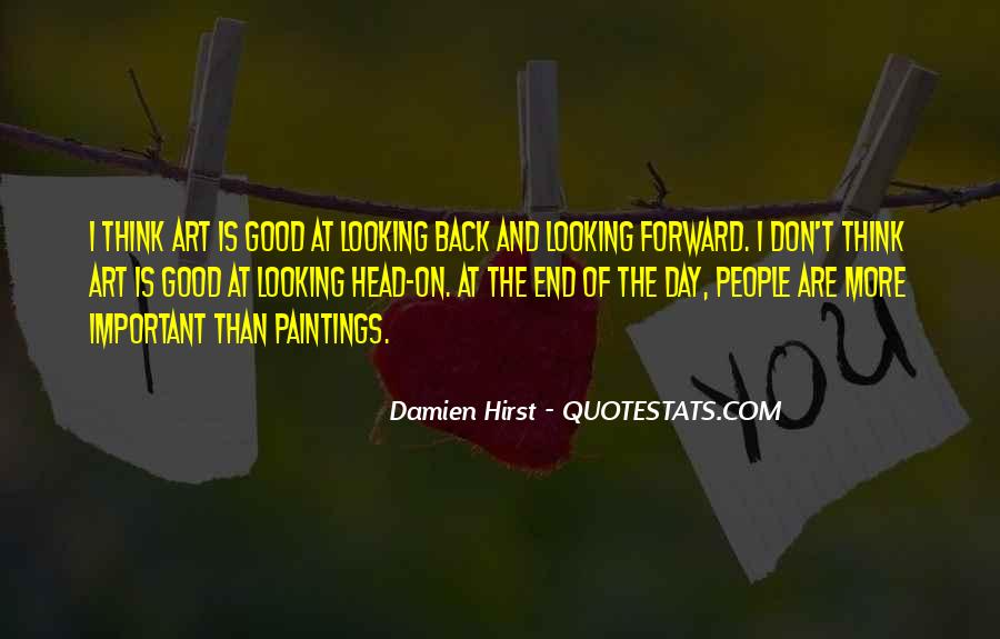 Best Looking Forward Quotes #71789