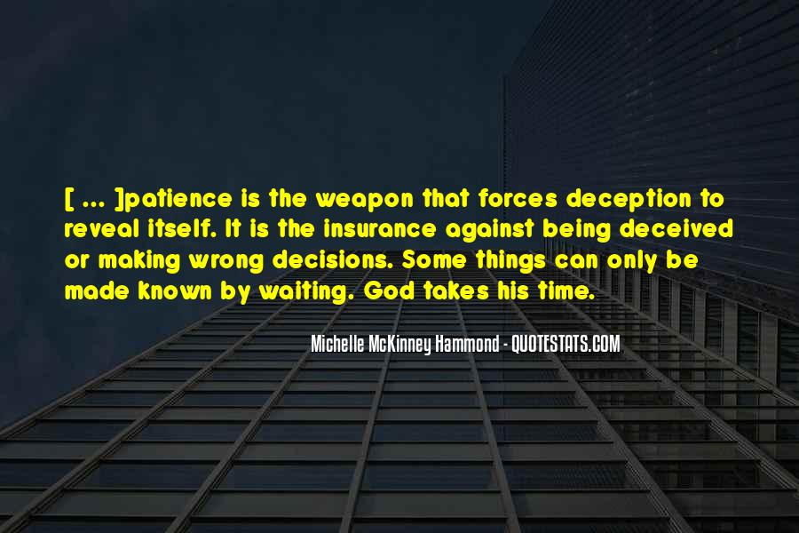 Quotes About Making Wrong Decisions #1854311