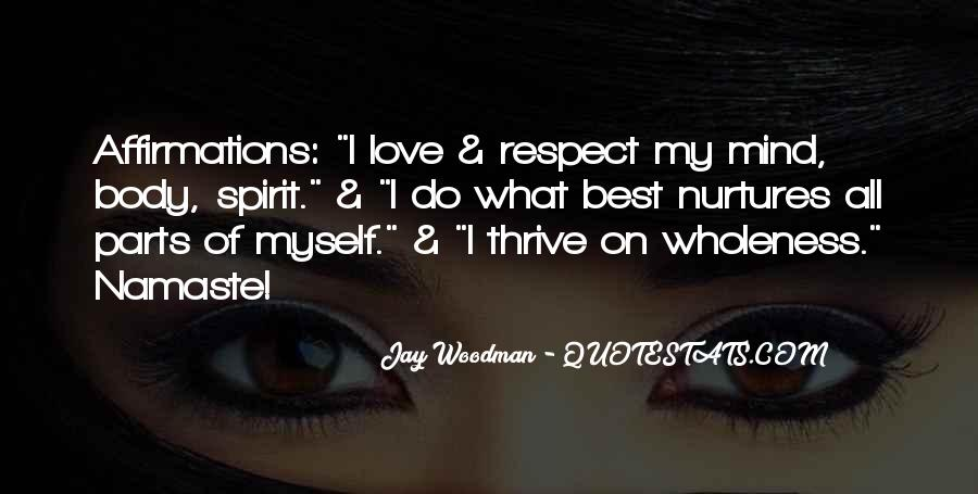 Best Love Respect Quotes #1699651