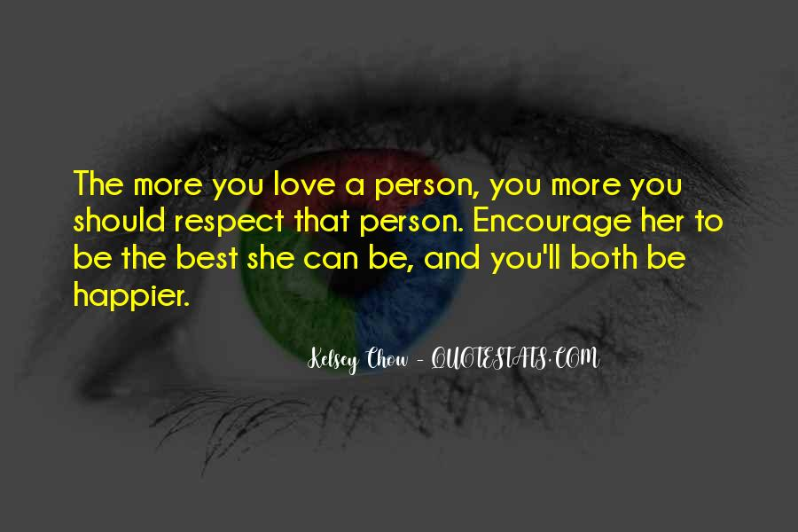 Best Love Respect Quotes #525786