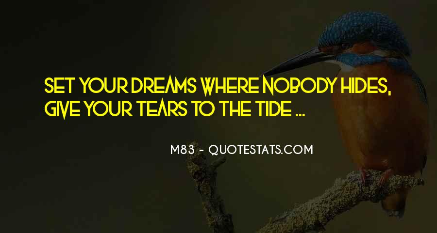 Best M83 Quotes #779067