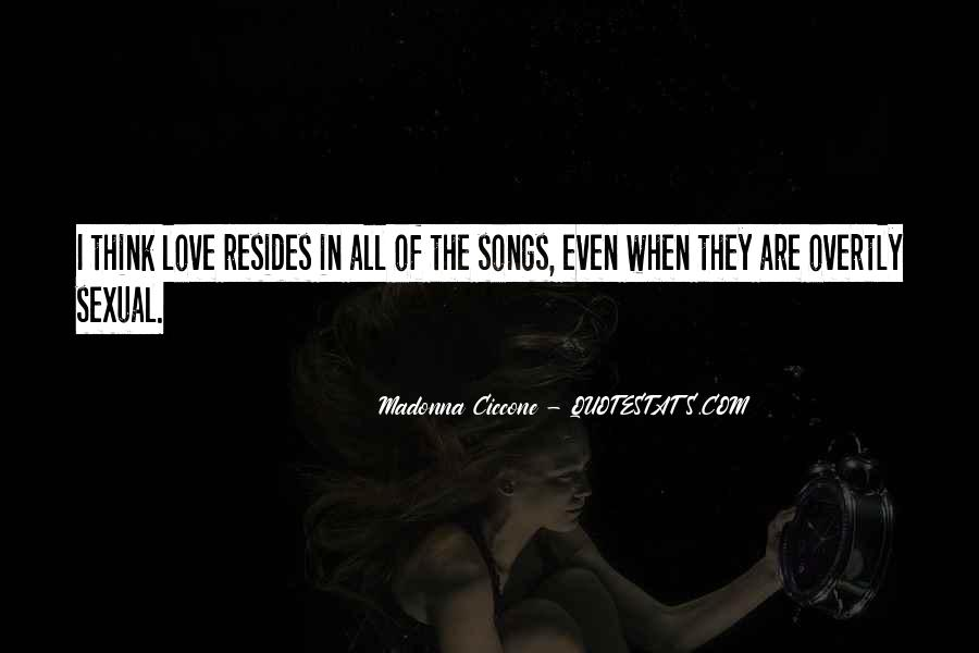 Best Madonna Song Quotes #1171537