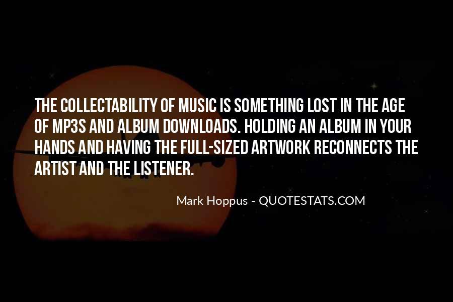 Best Mark Hoppus Quotes #460049