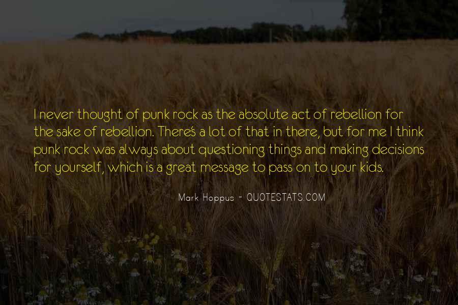 Best Mark Hoppus Quotes #566668