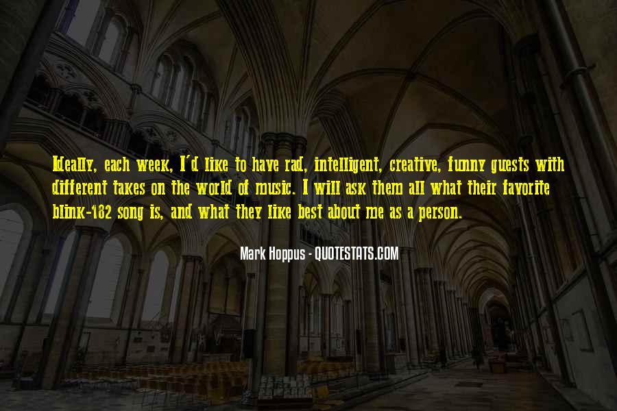 Best Mark Hoppus Quotes #816644