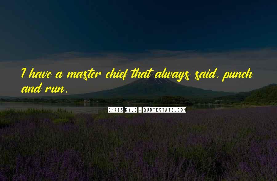 Best Master Chief Quotes #752317