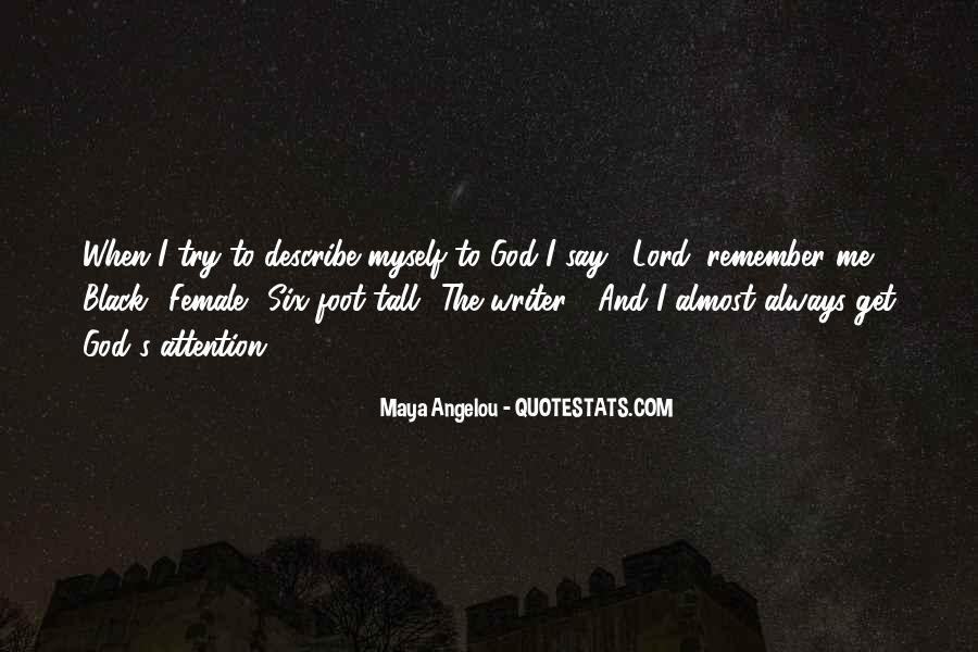 Best Maya Angelou Quotes #106873