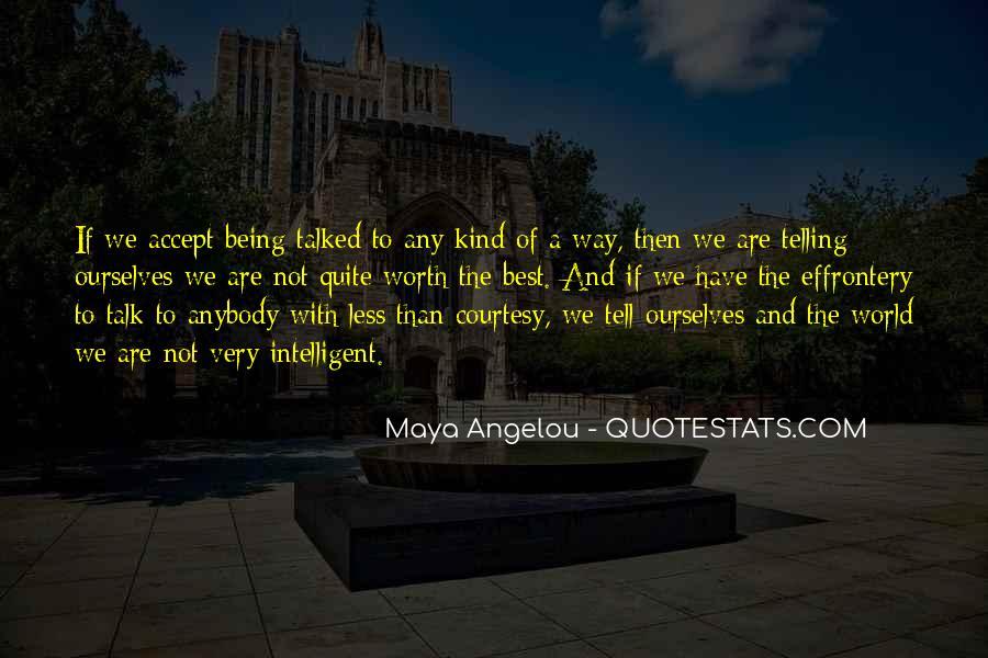 Best Maya Angelou Quotes #141166