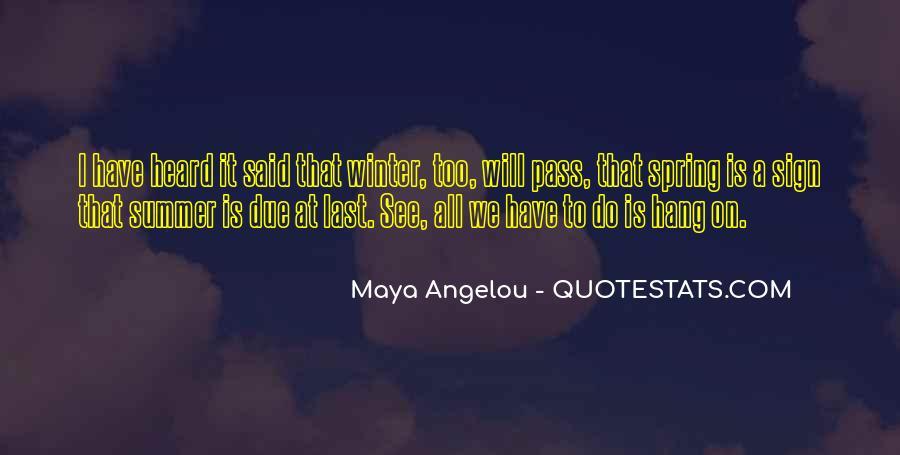 Best Maya Angelou Quotes #146884