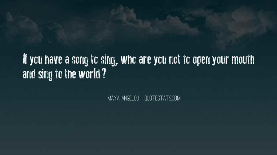 Best Maya Angelou Quotes #36241
