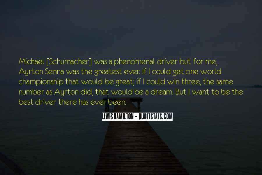 Best Michael Schumacher Quotes #1713318