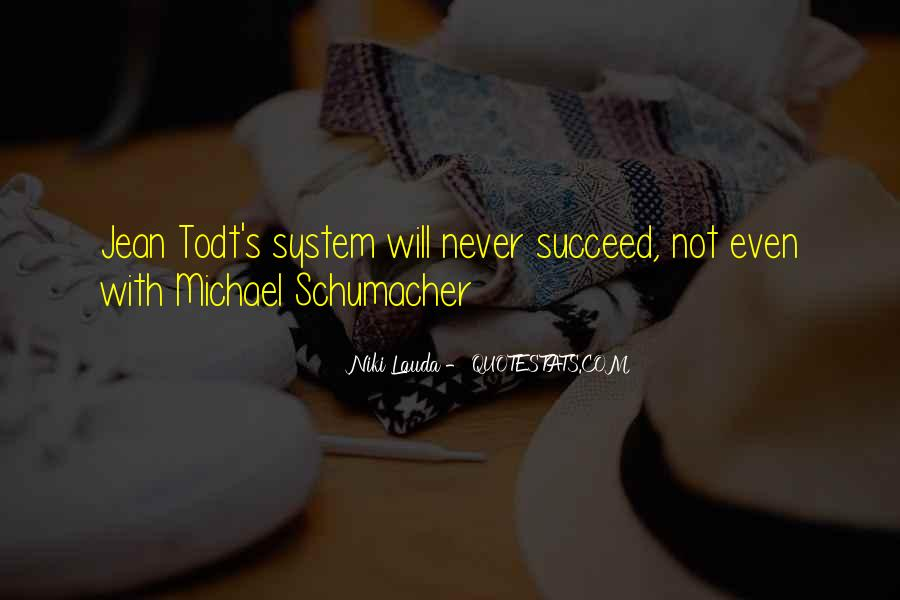 Best Michael Schumacher Quotes #569634