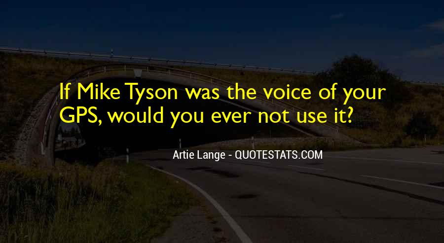 Best Mike Lange Quotes #1373283