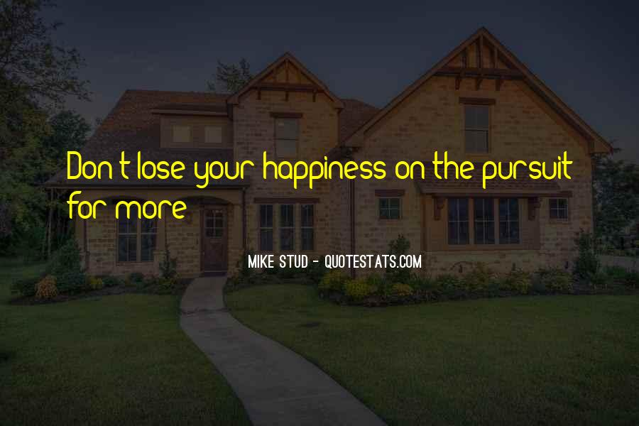 Best Mike Stud Quotes #922795