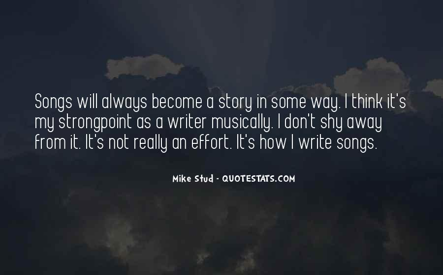 Best Mike Stud Quotes #961268