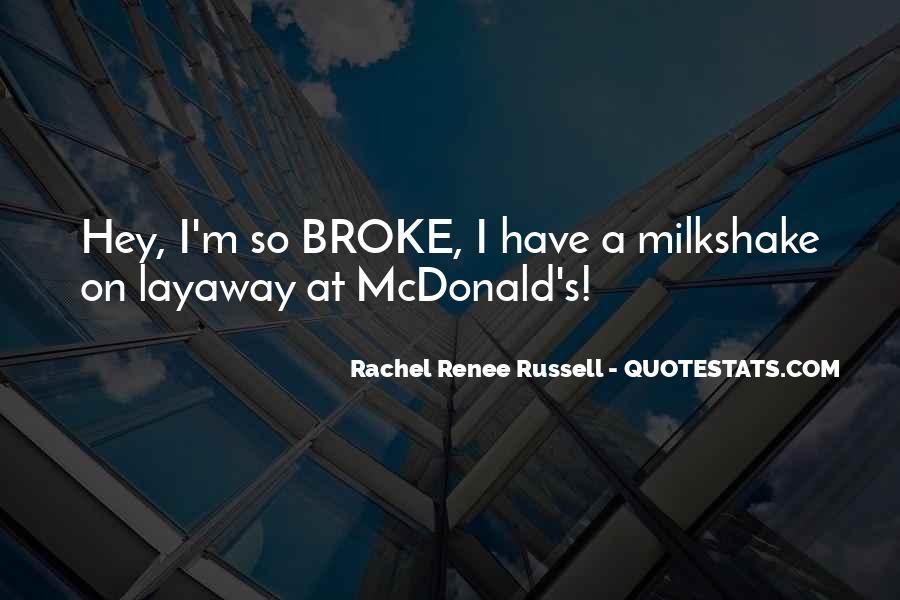 Best Milkshake Quotes #1194517