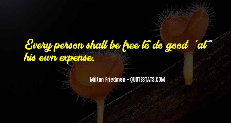 Best Milton Friedman Quotes #105687