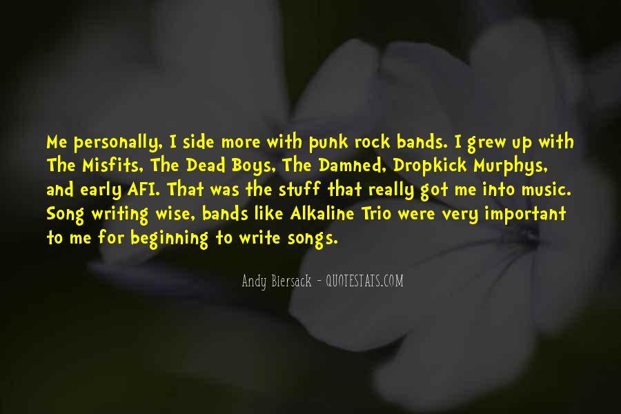 Top 12 Best Misfits Song Quotes Famous Quotes Sayings About Best Misfits Song