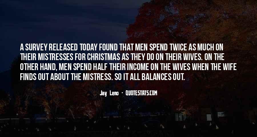 Best Mistresses Quotes #1224334