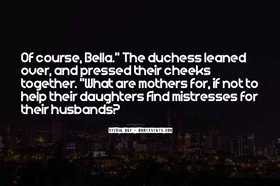 Best Mistresses Quotes #134134