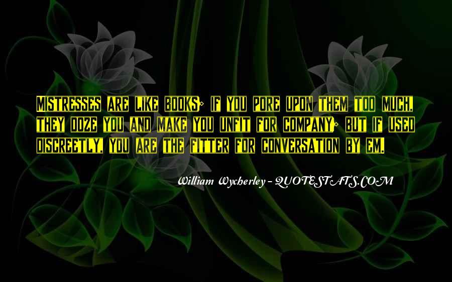 Best Mistresses Quotes #373283