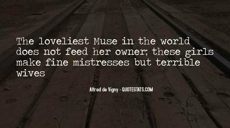 Best Mistresses Quotes #465146