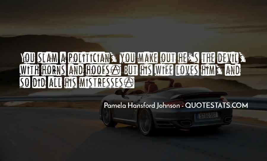 Best Mistresses Quotes #587732