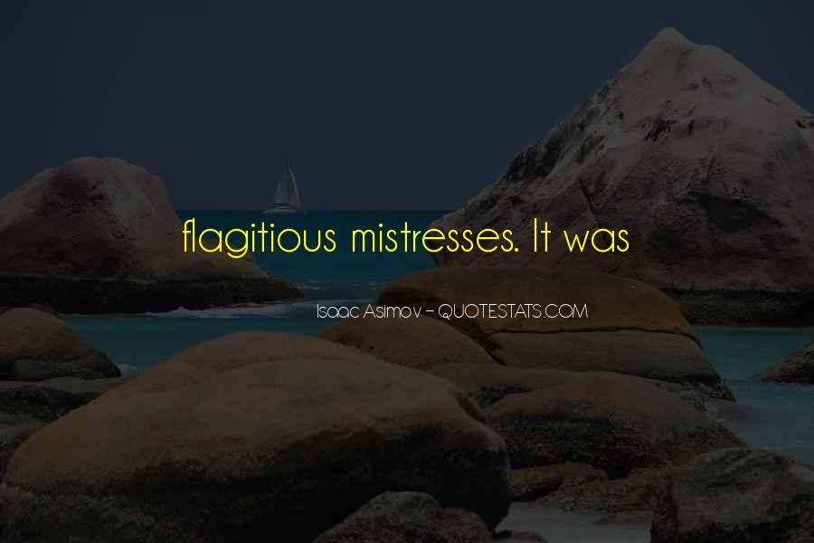 Best Mistresses Quotes #903111