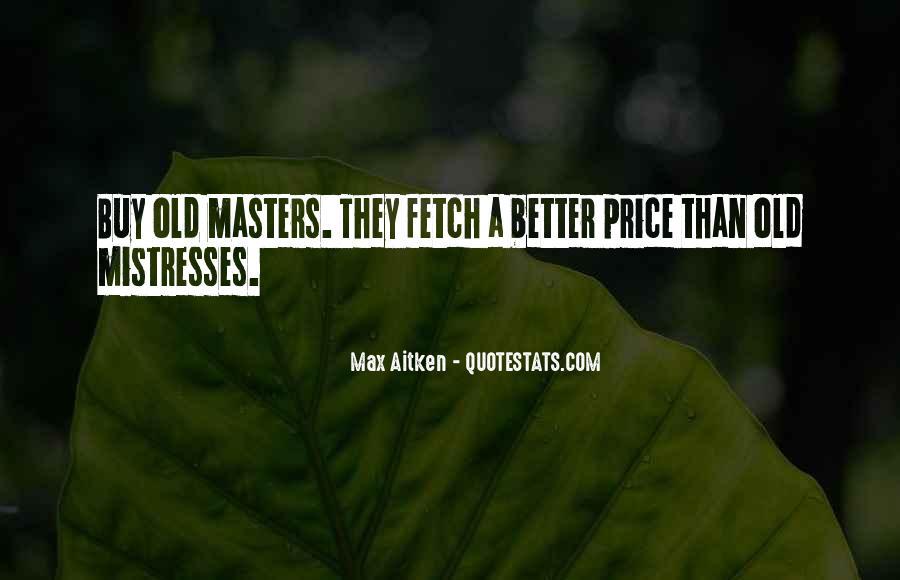 Best Mistresses Quotes #91572