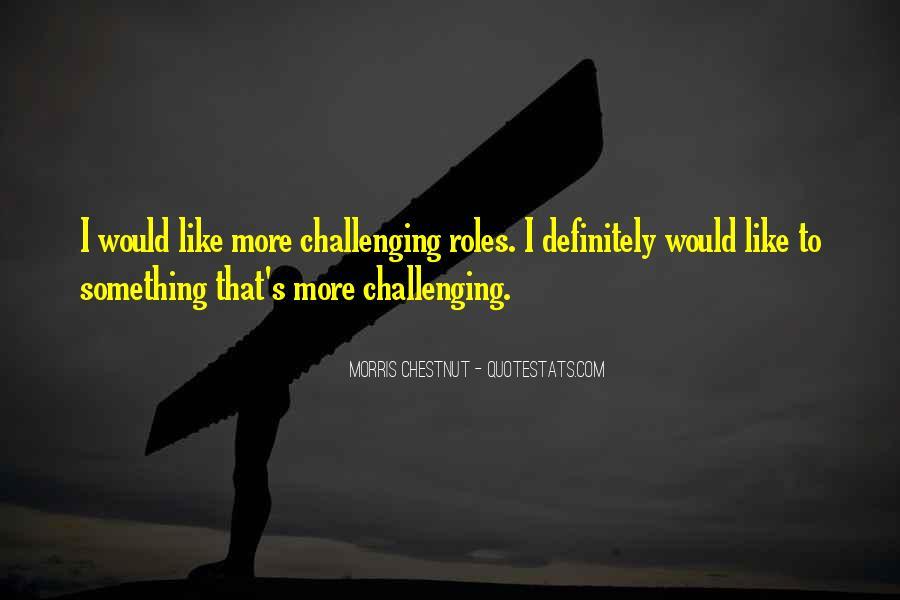 Best Morris Chestnut Quotes #313084