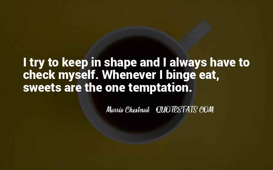 Best Morris Chestnut Quotes #501193