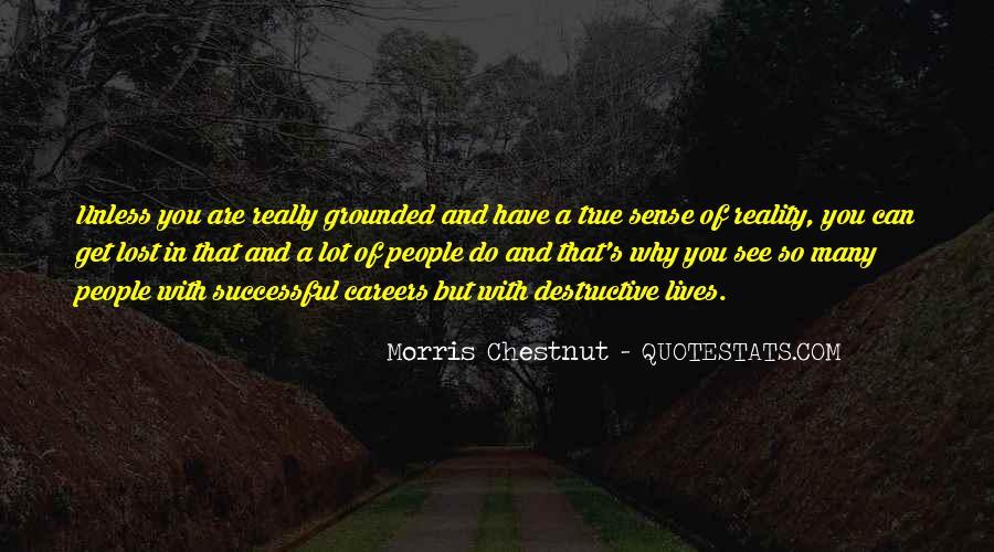 Best Morris Chestnut Quotes #551908