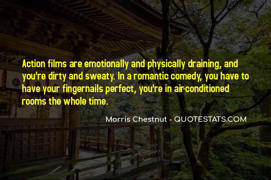 Best Morris Chestnut Quotes #552606