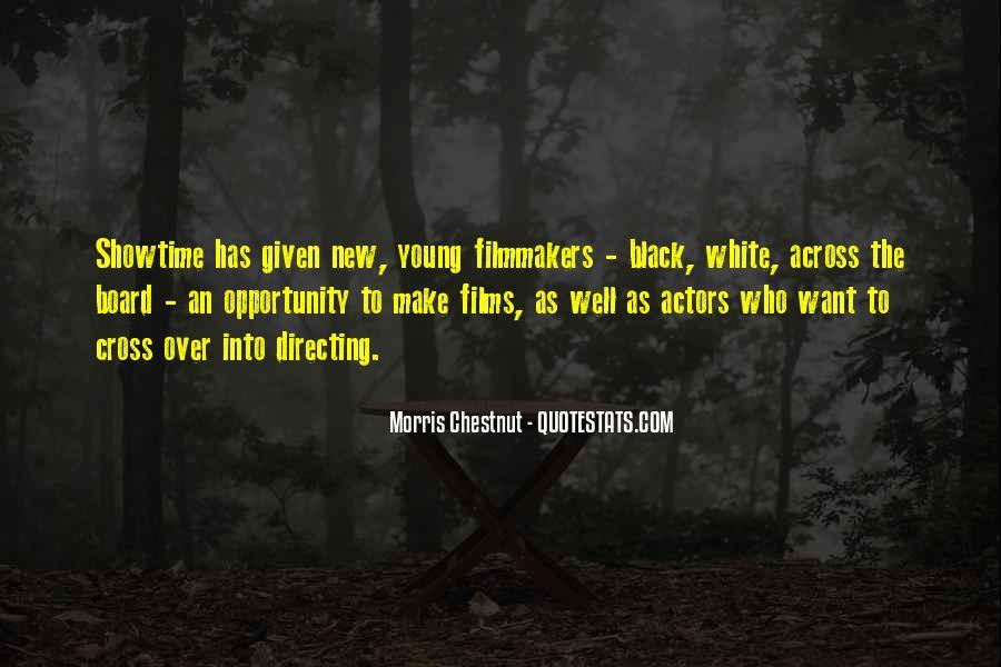 Best Morris Chestnut Quotes #98058