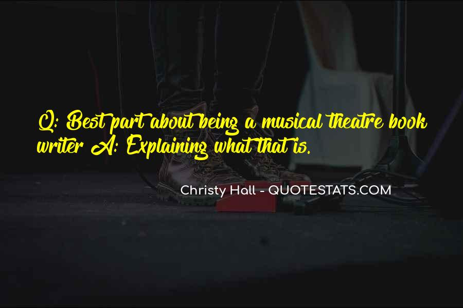 Top 32 Best Musical Theatre Quotes: Famous Quotes & Sayings ...