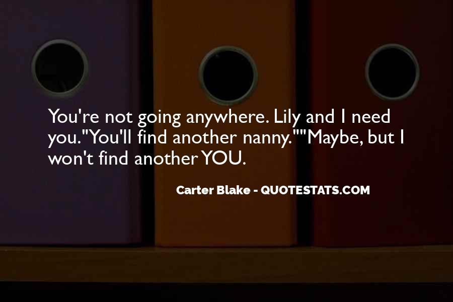 Best Nanny Quotes #164711