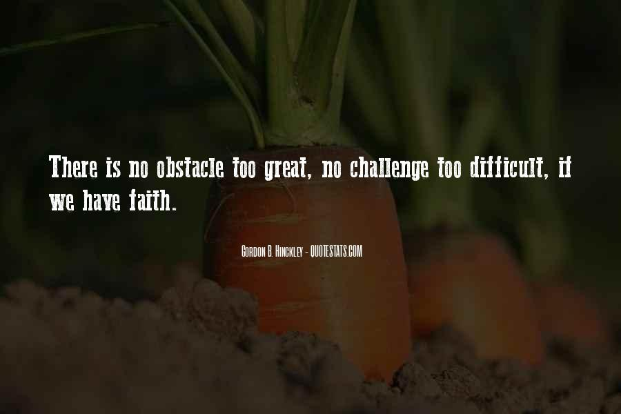 Best Obstacle Quotes #114528